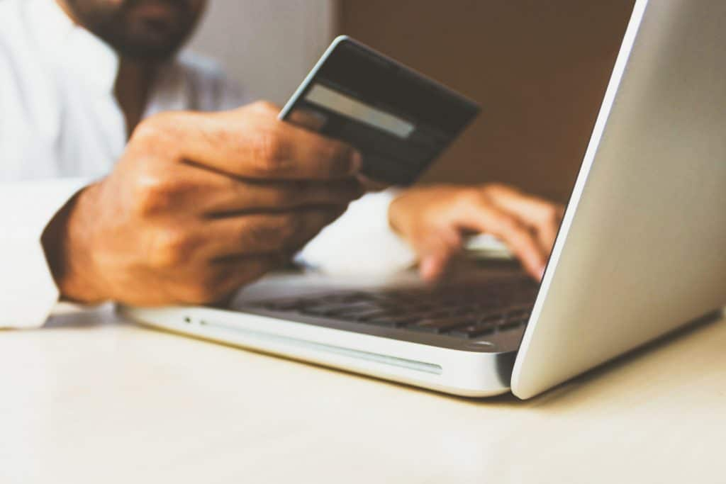 Ecommerce Statistics - A Person Shopping Online