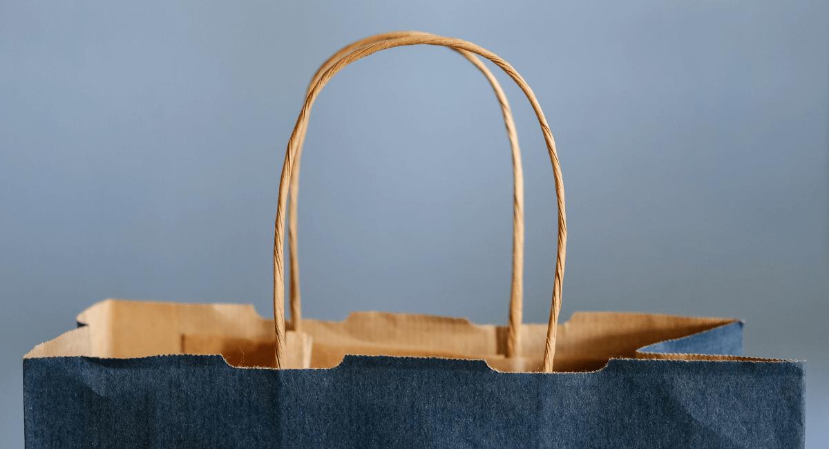 Shopping Cart Abandonment Statistics - Paper shopping bag