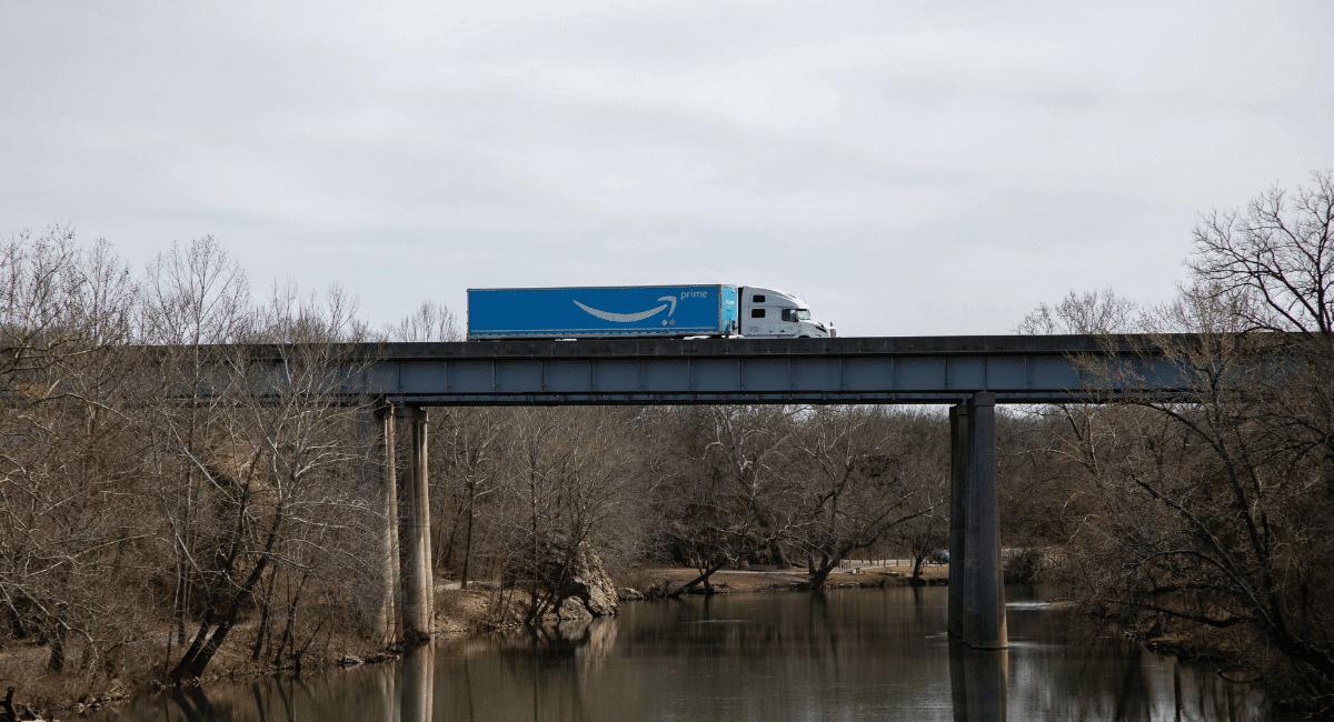 Amazon Statistics - Amazon truck