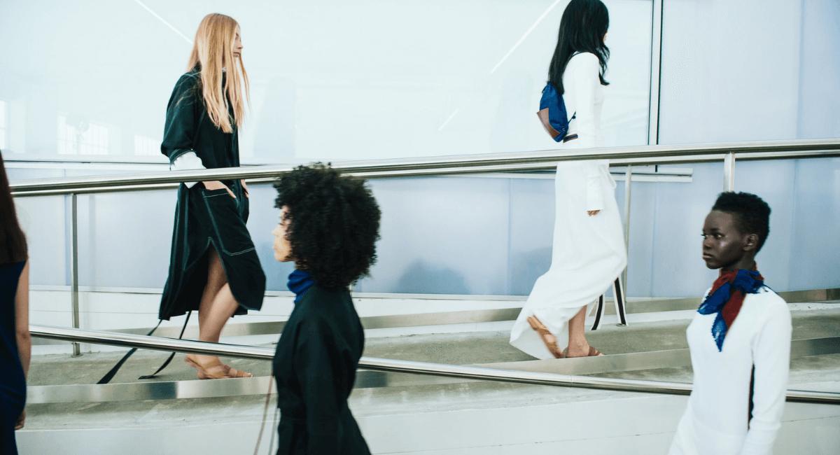 Fast Fashion Industry Statistics - Models at a fashion show