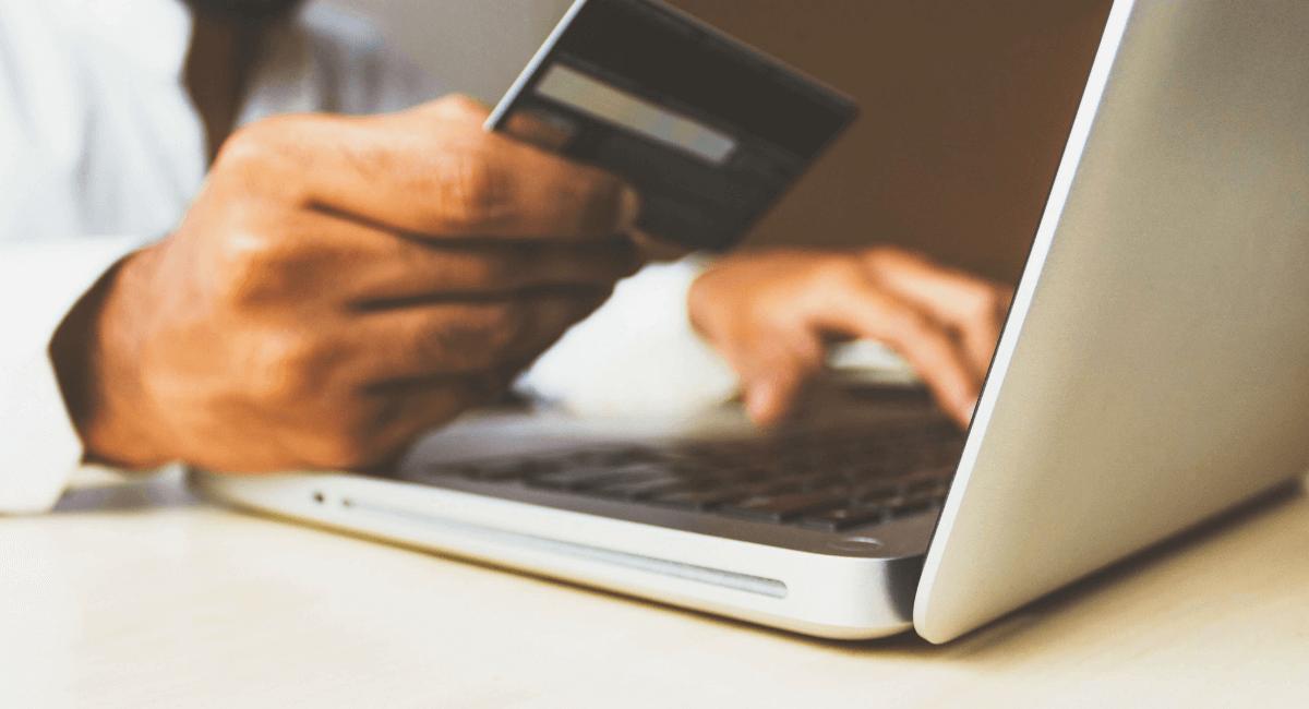 Shopping Addiction Statistics - Man shopping online